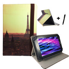 10.1 zoll Motiv Tablet Tasche Hülle - Asus Transformer Pad TF101 - Paris 2 10