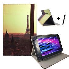10.1 zoll Motiv Tablet Tasche Hülle Etui - Acer Iconia Tab A200 - Paris 2 10