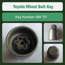 "Genuine Toyota Locking Wheel Bolt / Nut Key 484 ""D"""