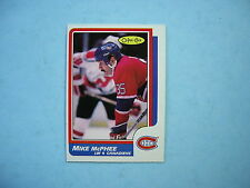 1986/87 O-PEE-CHEE NHL HOCKEY CARD #221 MIKE MCPHEE NM SHARP!! 86/87 OPC