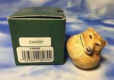 "Harmony Kingdom Roly Polys ""Candy"" Bear Box Figurine Tjrpbe w/ Box Euc"