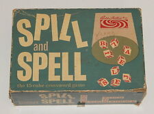 1957 Parker Brothers Spill and Spell