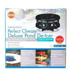 K&H Perfect Climate Deluxe Pond De-Icer -750 watt-water garden-heater-koi fish
