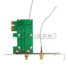 Mini PCI to PCIe Adapter WIFI BT - 2x Antenna
