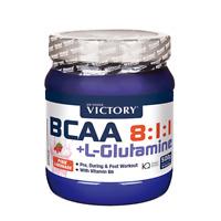 Victory BCAA 8:1:1 + L-Glutamina sabor Limonada Rosa  500 gr