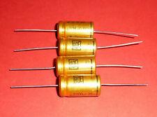 4x org. ROE Roederstein EGM 2200 uF µF 25V golden Bullet Vintage Audio Grade NOS