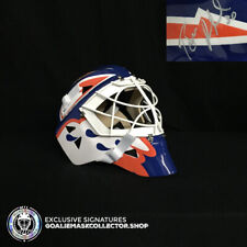 BILL RANFORD SIGNED AUTOGRAPHED GOALIE MASK EDMONTON OILERS 1992 STANLEY CUP ED