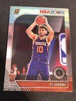 Ty Jerome RC 2019-20 Panini NBA Hoops Premium Stock Base Rookie Card #219 Suns