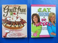 NEW BOOKS:  Taste of Home's  EAT, SHRINK....GUILT FREE COOKING DIET    LOT OF 2