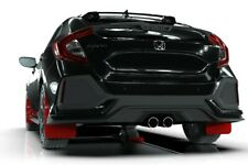 Rally Armor Mud Flaps For Honda 17-19 Civic Sport Touring Hatch Red w Black Logo