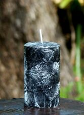 40hr GUNPOWDER FLINT Essential Oil Scented ECO CANDLE MENS / FATHERS DAY GIFTS