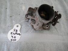 98 99 00 Ford Explorer Ranger Mazda B4000 Throttle Body OHV VIN X OEM 4.0L Used