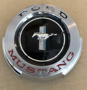 Original Vintage Ford Mustang Gas Cap 1964 to 1965 Running Horse
