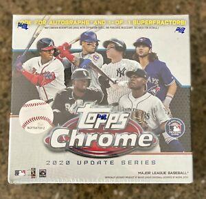 2020 Topps Chrome Update Baseball Mega Box  Sealed 🔥⚾️👀