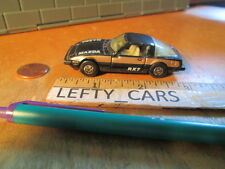 MATCHBOX 1979 MAZDA RX-7 Lesney black and bronze SCALE 1/64 - LOOSE! DIORAMAS