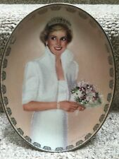 Princess Diana Bradford Exchange Queen of Our Hearts Plate-Our Royal Princess