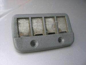 85 92 CAMARO FIREBIRD HATCH DECK LID SPOILER THIRD 3RD BRAKE LIGHT CONTACT TRIM