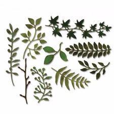 Blätter Grünes Blumen Stanzschablone / Cutting dies für Big Shot