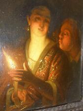 att Godfried Schalcken (1643-1706) Dutch old master candlelight oil on canvas