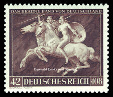EBS Germany 1941 Brown Ribbon Horse Race - Das Braune Band - Michel 780 MH*