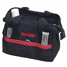"NEW Craftsman 10"" inch Reinforced Tool Bag Pouch Carrying Storage Case Tote"