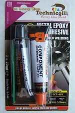 1 x époxy colle pour métaux en acier allié BRONZE ETC 2 x 20 ml Cold Soudage NEUF