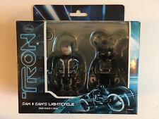 Medicom Kubrick / Be@rbrick Disney Bearbrick TRON Legacy Two-Pack Sam Lightcycle