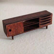 Dollhouse Miniature Quarter Scale Mid Century Modern Sideboard KIT -- 1:48