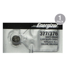 Energizer 377 376 Silver Oxide Watch Batteries SR626SW (1 Pack)
