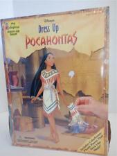 Vintage Disney's Dress Up Pocahontas Book – My Colorforms Dress-Up Book - NEW