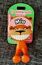 Mia Toothbrush Holder Wall Suction Cup Girl Child Personalised