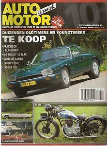 AUTO MOTOR KLASSIEK 2011 10 SUNBEAM RAPIER JAGUAR XJS V12 PONTIAC GRAND VILLE 74