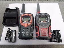 2 Cobra CXT565 32 Mile 2 Way Radio Waterproof LED light Walkie Talkie w/ Charger