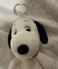 Plush Peanuts Snoopy Classic Doll Figure Keychain Accessory Charm