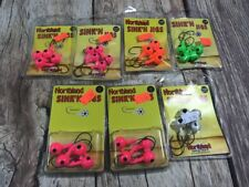 NEW NIP NORTHLAND SINK'N JIGS FISHING TACKLE SET OF 7