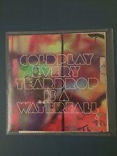 RARE - Coldplay - Every Teardrop Is A Waterfall - Promo CD Single