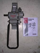 "RIDGID 916 ROLL GROOVER 975 300 300 COMPACT 535 1822 PIPE THREADER 1-1/4-6"" PIPE"