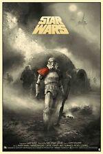 Star Wars Alternative Film Poster art reproduction print A4 Toile Effet Papier