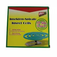 REINEX  10x Insekten-Spirale & 2 Ständer Mücken & Moskito InsektenSTOPP Schutz