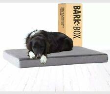 Barkbox Memory Foam Platform Dog Bed for Orthopedic Joint Relief  Large 35x22x3