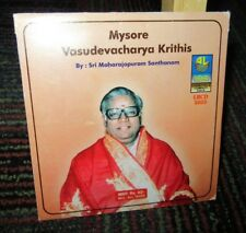 SRI MAHARAJAPURAM SANTHANAM: MYSORE VASUDEVACHARYA KRITHIS MUSIC CD, HINDU, GUC