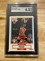 Michael Jordan SGC 6.5 NM 1990 Fleer #26 Last Dance INVEST Against Inflation! NR