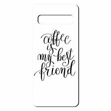 For Samsung Galaxy S10 Silicone Case Coffee Text Quote - S6442
