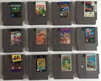 Nintendo NES Lot Of 24 Classic Games XMEN, Dr Mario etc Free Shipping