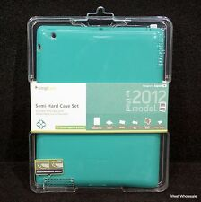 iPad 3rd, 4th* Gen - GREEN Semi Hard TPU Case Cover | Simplism (Lot of 10)