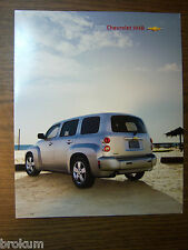 MINT CHEVROLET 2011 CHEVY HHR 2 PAGE SALES BROCHURE NEW