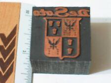 Desoto Printers Block Letter Press , (lg) (**)