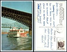 MISSOURI Postcard - St. Louis, Huck Finn Excursion Boat O24