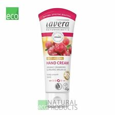 Lavera Organic Hand & Cuticle Cream Anti Ageing Cranberry & Argan Oil 75ml