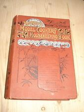 WARNE'S MODEL COOKERY AND HOUSEKEEPING BOOK, CONTAINING COMPLETE INSTRUCTIONS IN